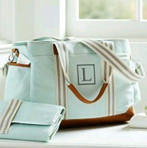 Handbags - POTTERY BARN DIAPER BAG